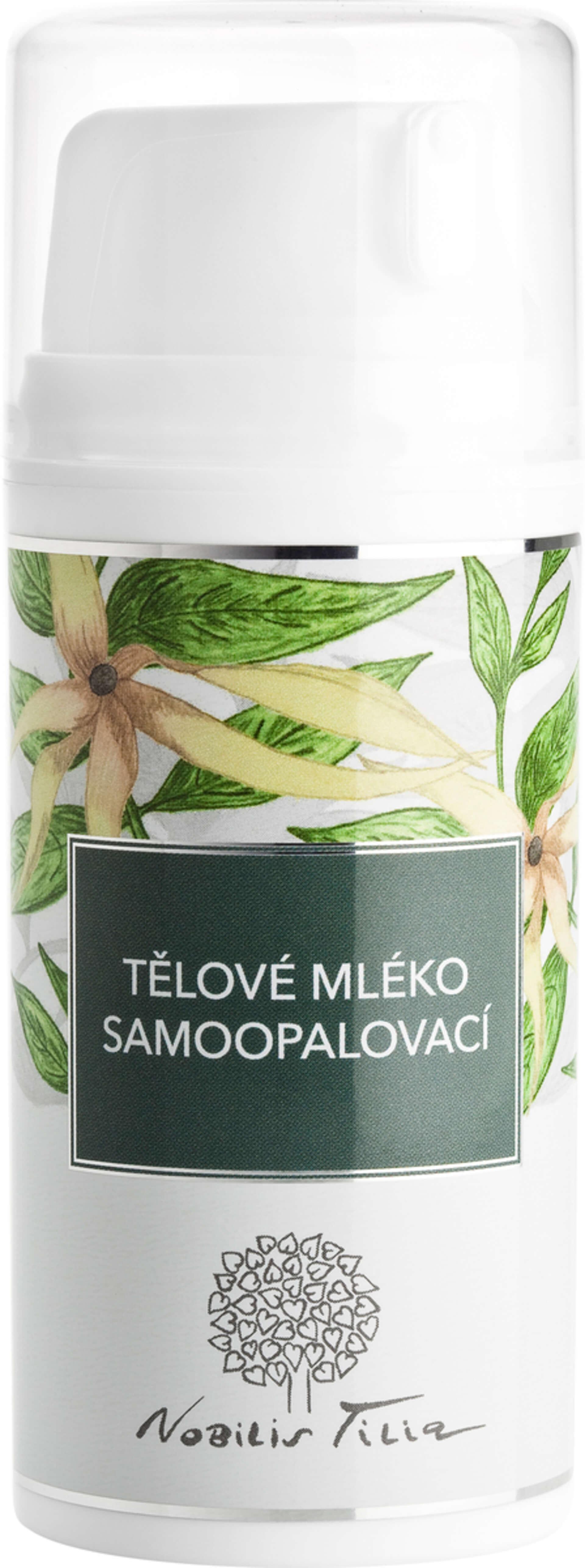Nobilis Tilia Telové mlieko samoopaľovacie 100 ml