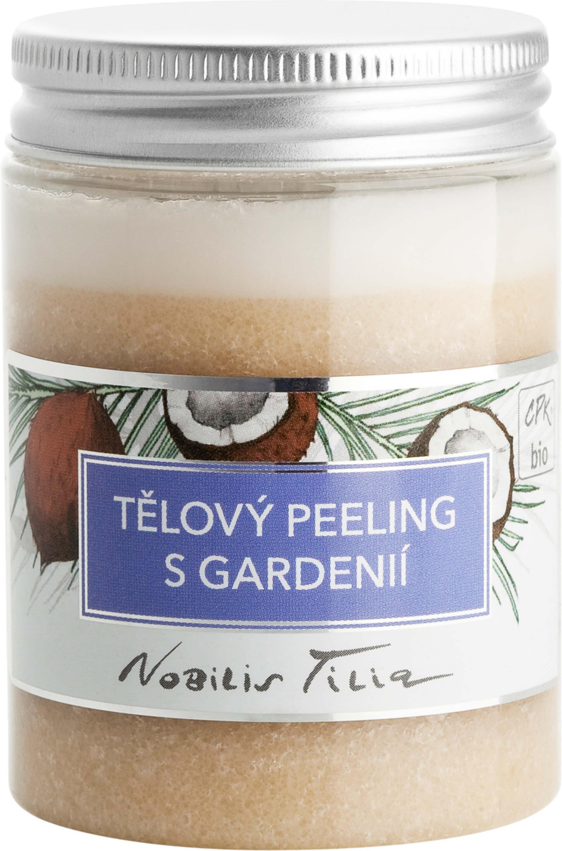Nobilis Tilia Telový peeling s Gardenia 100 ml