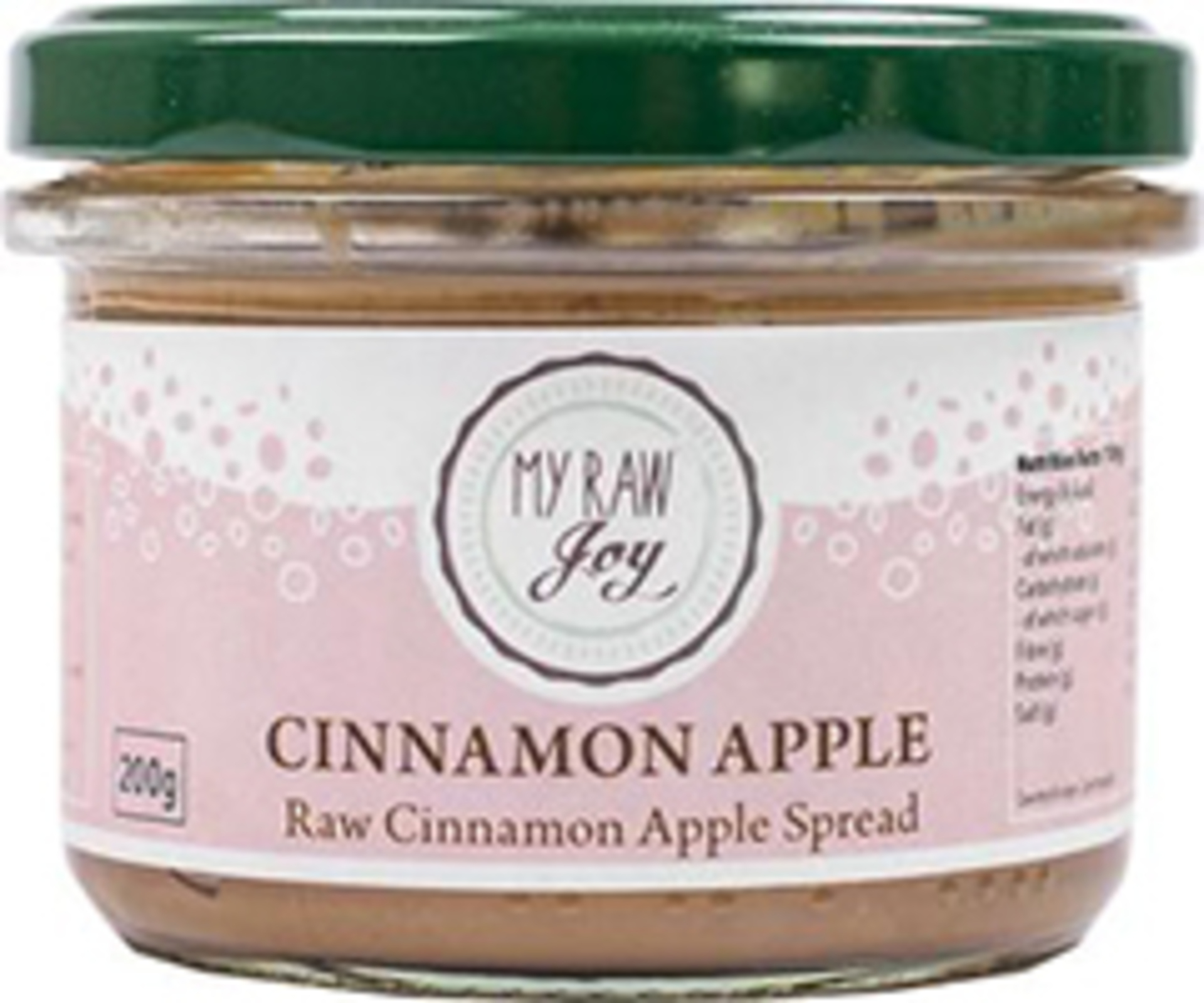 My Raw Joy Cinnamon / apple spread 200 g