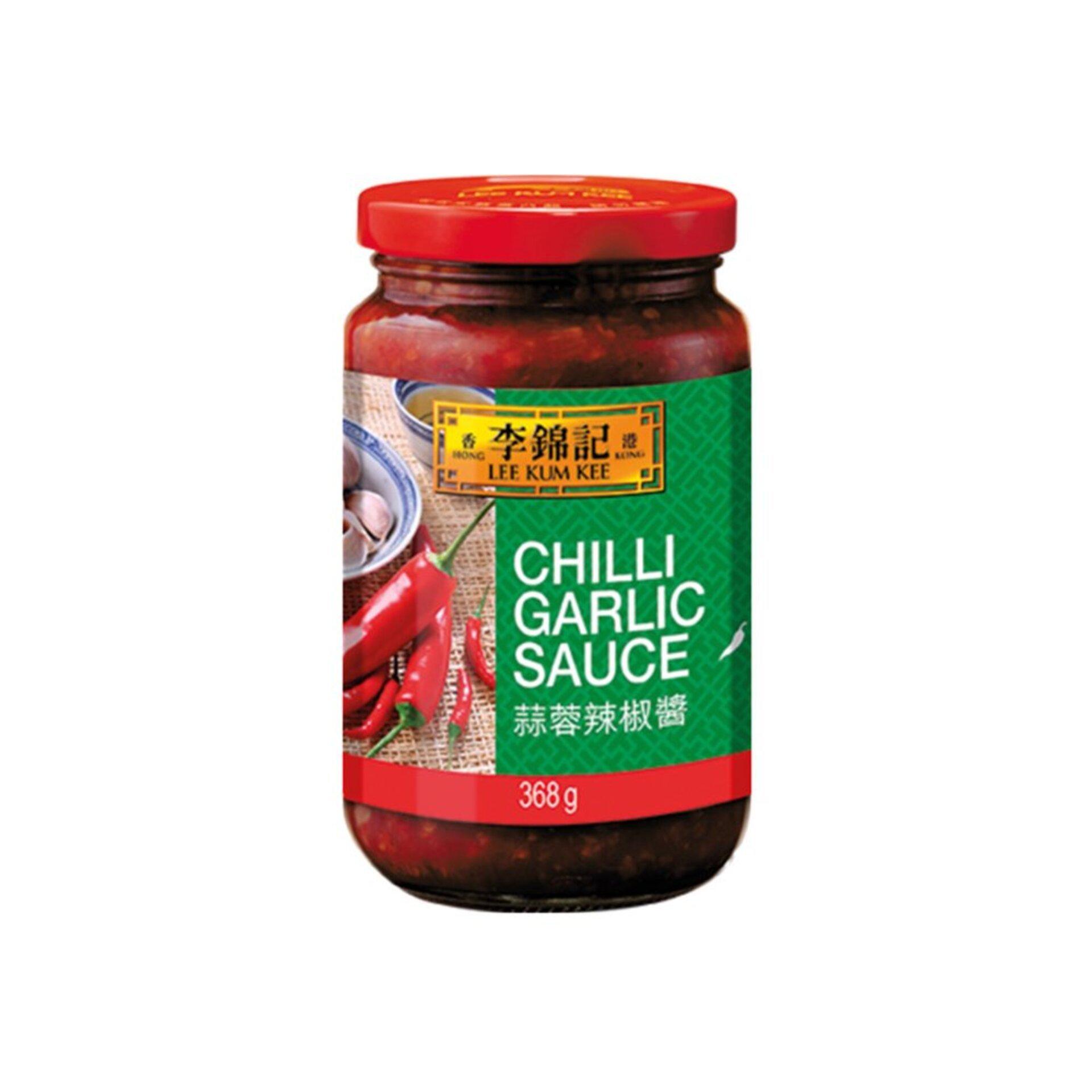 Lee kum kee Chilli omáčka cesnaková 368 g