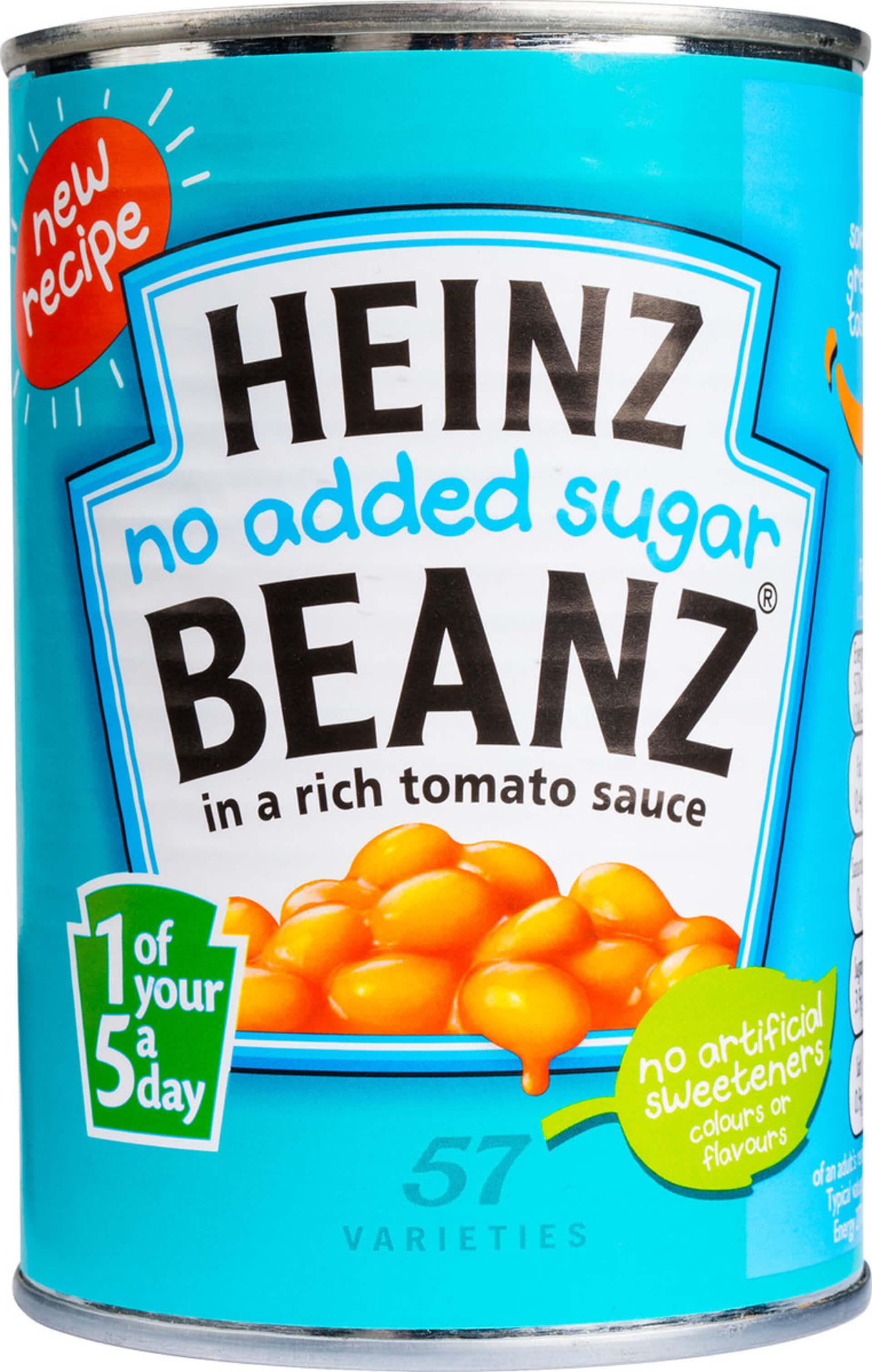Heinz Fazuľa bez cukru 415 g