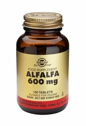 Solgar Alfalfa 600mg 100 tablet