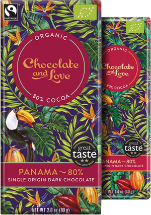 Chocolate and Love Panama 80% BIO 80 g