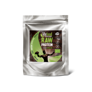 Lifefood Drink 35 g Proteín sa superfoods / kakaový so spirulinou BIO RAW