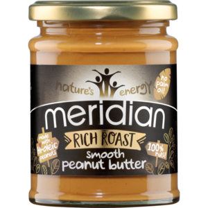 Meridian Arašidový krém Rich Roasted smooth 280 g