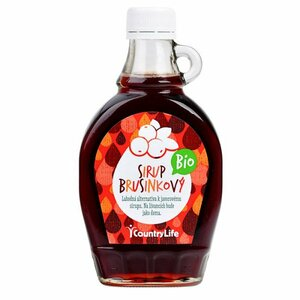 Country Life Sirup brusnicový BIO 250 ml