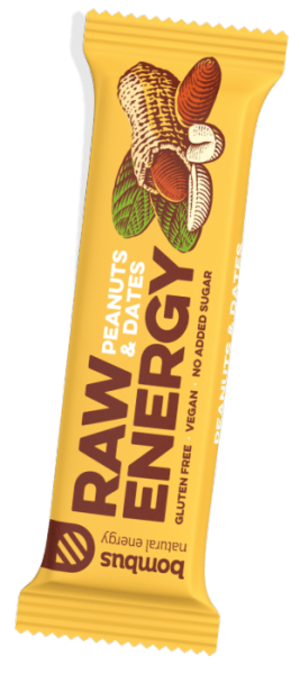 Bombus RAW PROTEIN Peanut butter 50 g