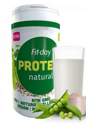 Fit-day Protein naturálny 600 g