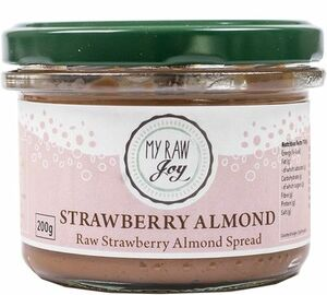 My Raw Joy jahoda / Almond spread 200 g