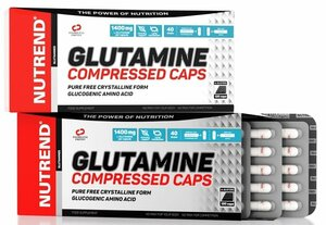 Nutrend Glutamine compressed 120 kapsúl