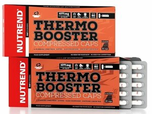 Nutrend Thermobooster compressed 60 kapslí