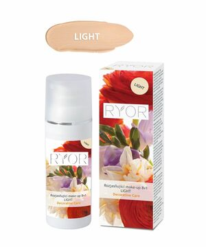 RYOR Rozjasňujúci make-up 8v1 LIGHT 30 ml