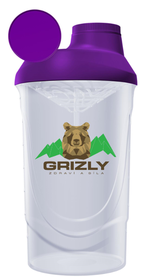 Grizly Shaker s medveďom 600 ml