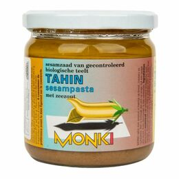 Monk Tahini so soľou BIO 330 g