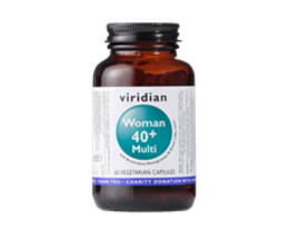 Viridian 40+ Woman Multivitamin 60 kapslí
