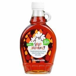 Country Life Sirup javorový Grade C 250 ml