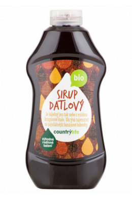 Country Life Sirup datľový XXL BIO 874 ml