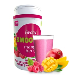 Fit-day Smoothie Mango / malina 600 g