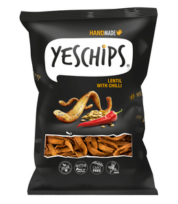 Yeschips Šošovicové s chilli 80 g