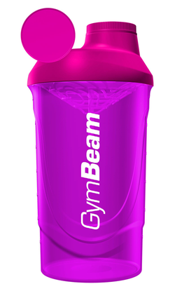 GymBeam Shaker ružový 600 ml