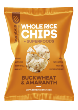 Bombus Rice chips 60 g Buckwheat / amarant