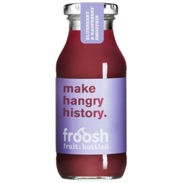 Froosh Smoothie čučoriedka a malina 250 ml