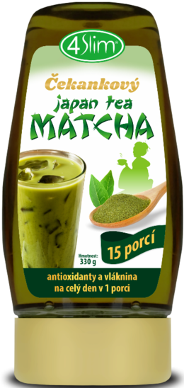 4Slim Čakankový japan Tea Matcha 330 g