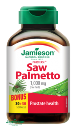 Jamieson Prostease ™ Saw Palmetto 125 mg na prostatu 60 tablet