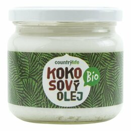 Country Life Olej kokosový BIO 300 ml