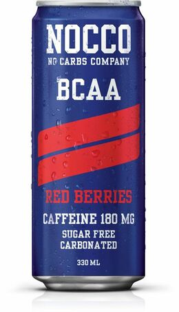 Nocce BCAA red berries 330 ml