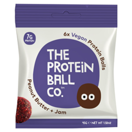 Proteín The proteín ball co arašidové maslo + džem 45 g