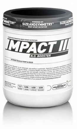 SizeAndSymmetry Nutrition Impact NO III 400 g
