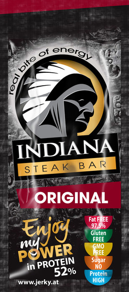 Indiana Jerky Steak bar original 20 g